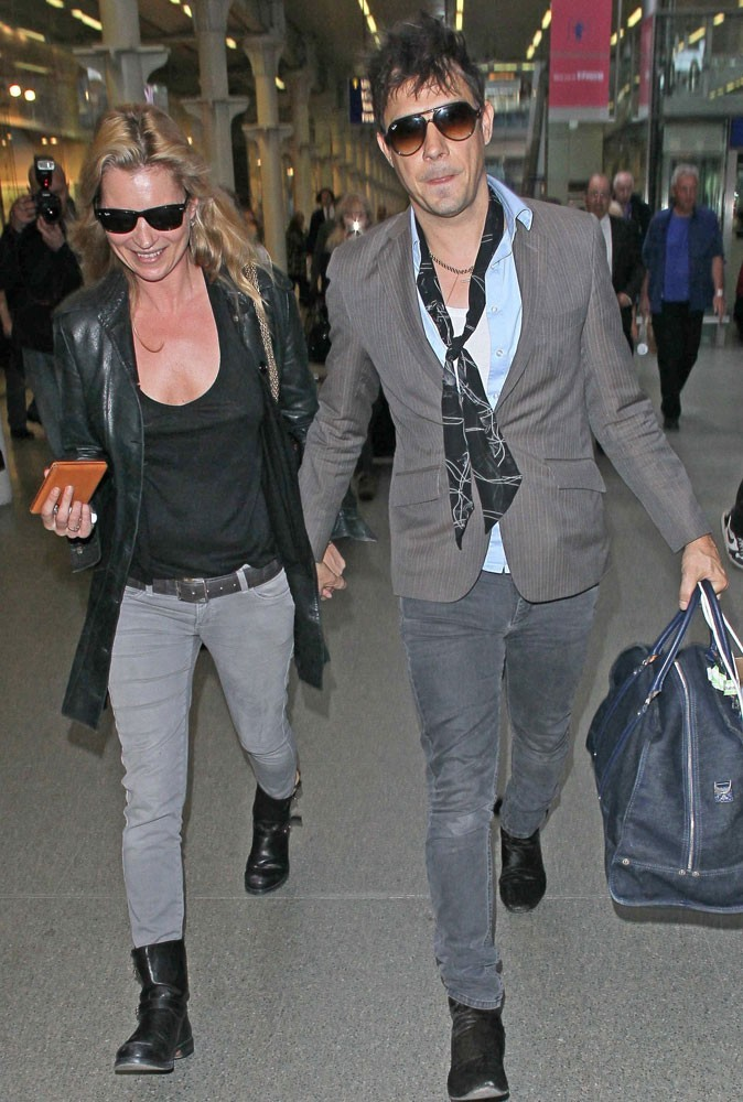 Photos : Kate Moss et Jamie Hince sont rock'n'roll !