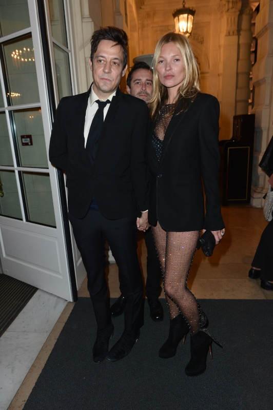 Kate Moss et Jamie Hince le 5 mars 2013 à Paris