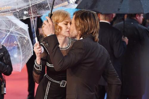 Nicole Kidman et son mari, Keith Urban, à Londres le 23 novembre 2014