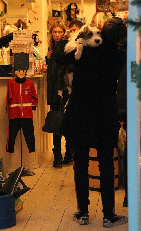 Kate Moss le 30 novembre 2012 à Londres