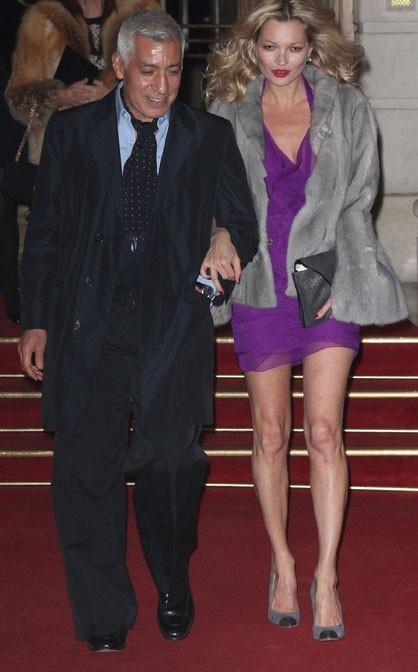 Kate Moss clean au début de la soirée !