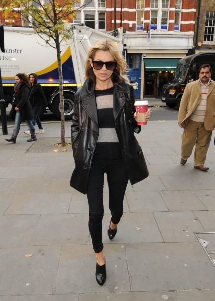 Kate Moss le 19 novembre 2012 à Londres