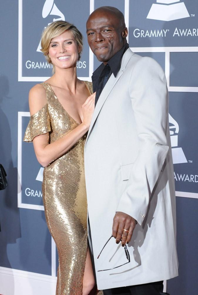 Heidi Klum est amoureuse du chanteur Seal