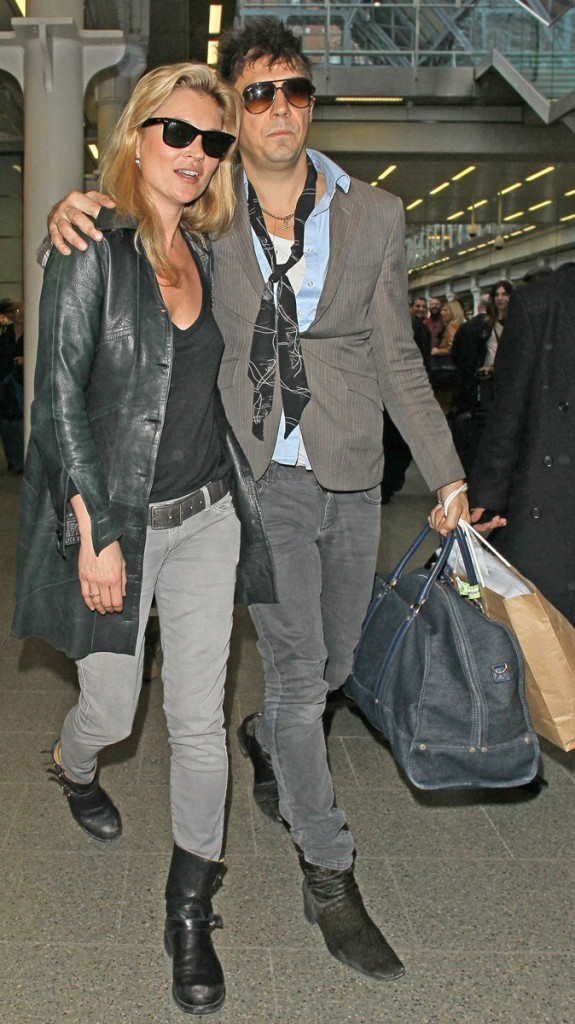Kate Moss et son fiancé ont la rock'n'roll attitude !