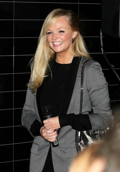 Emma Bunton lors de la soirée d'illumination de la boutique Stella McCartney à Londres, le 29 novembre 2011.