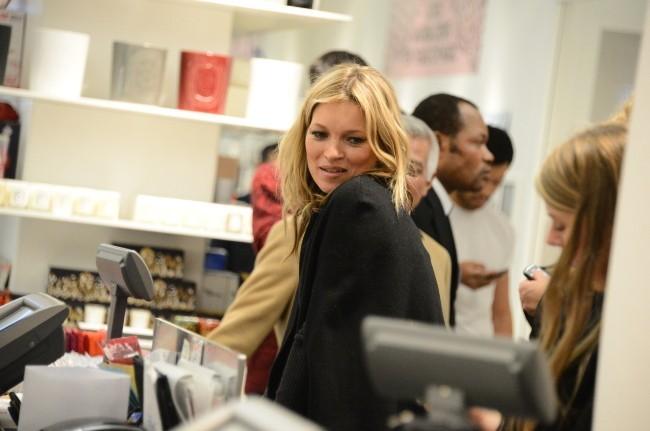 Kate Moss, Paris, 21 novembre 2012.