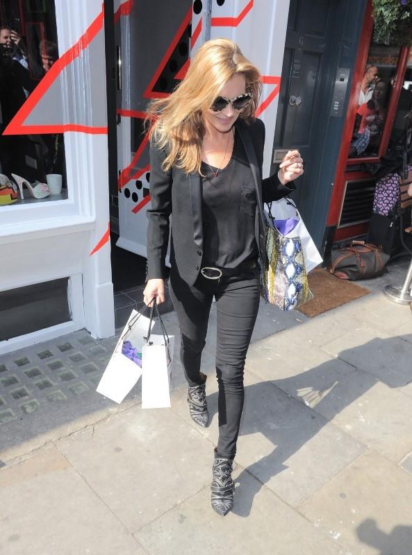 Kate Moss a la fièvre acheteuse