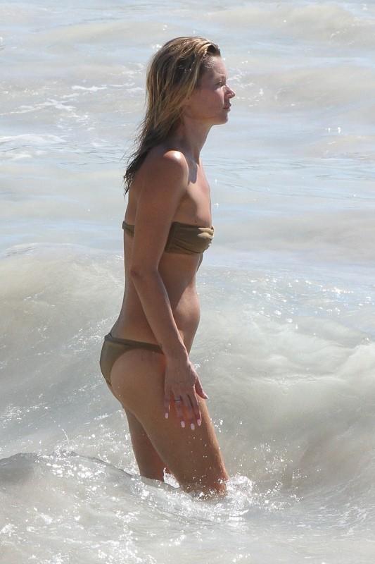 Kate Moss le 18 décembre 2012 à Saint Barth