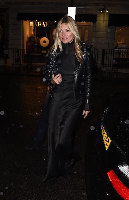 Photos : Kate Moss : toujours présente pour son ami John Galliano !