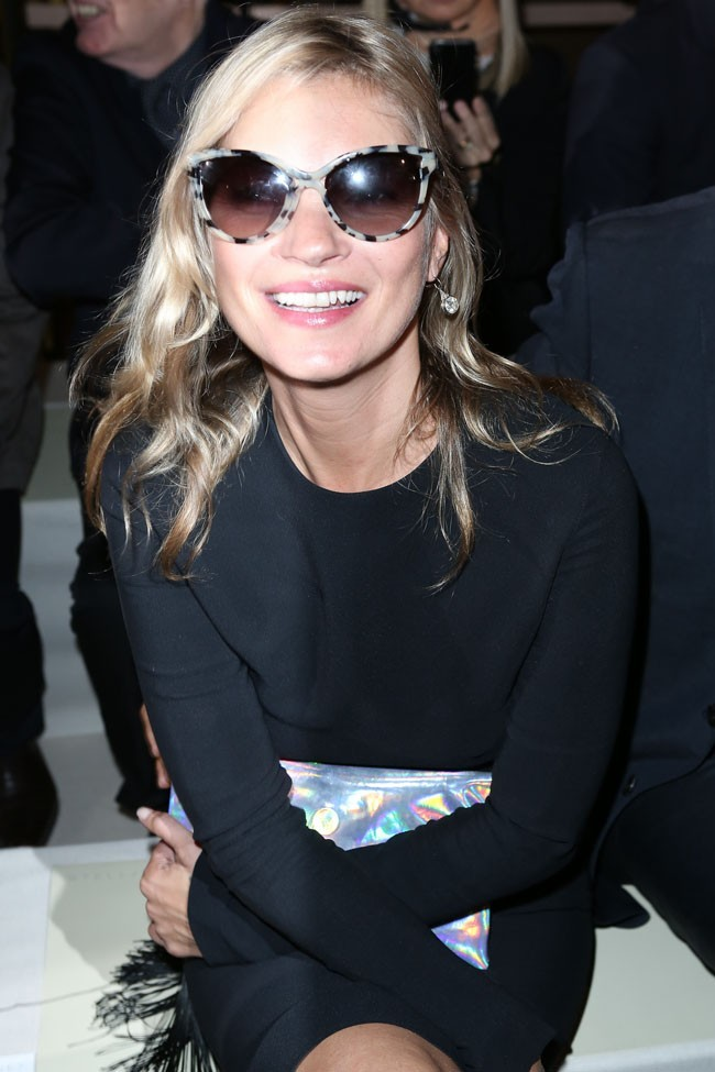 Kate Moss le 1er octobre 2012 à Paris