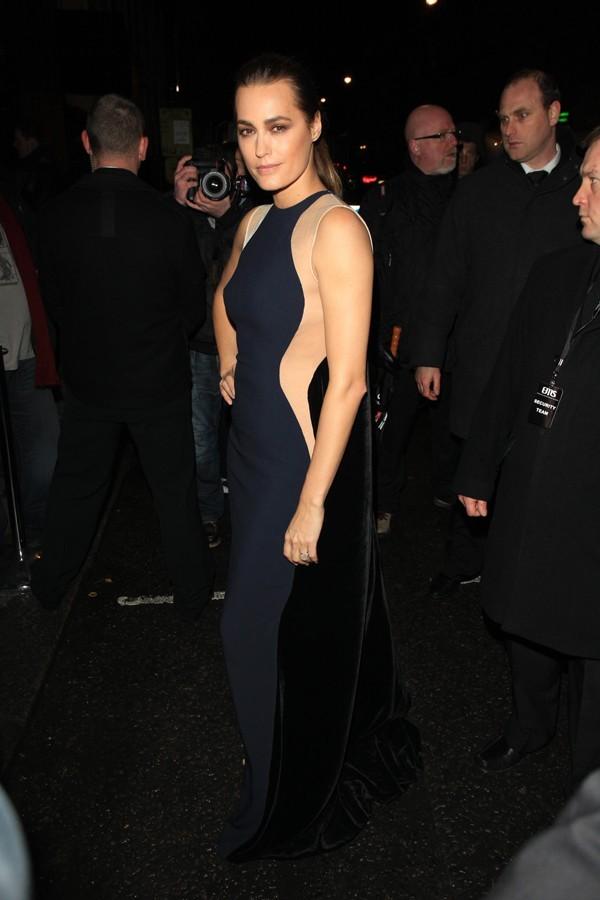 Yasmin Le Bon, comme Kate, mais en long !