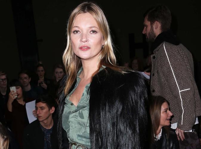 Kate Moss : vedette du défilé Topshop à la Fashion Week de Londres, elle s'est imposée en force face à Kendall Jenner !
