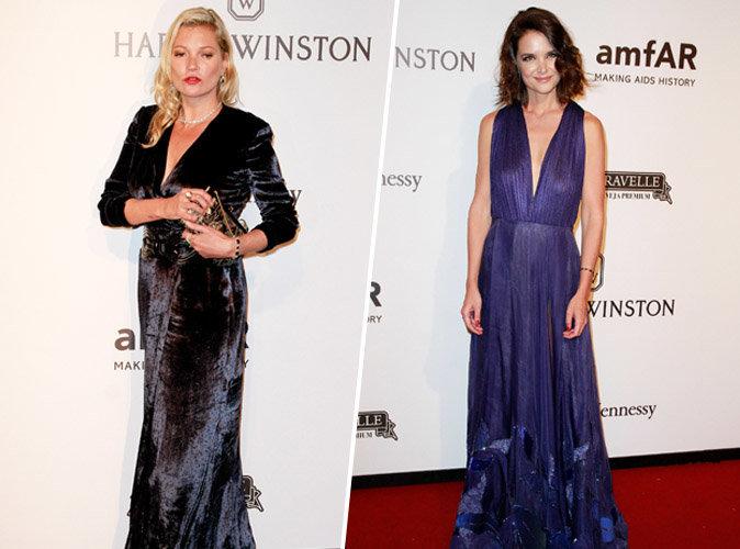 Kate Moss VS Katie Holmes : qui a été la plus bombesque à l'amfAR ?