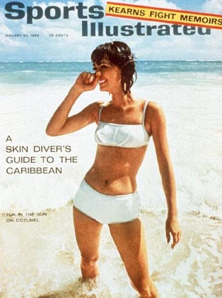 En 1964, le lancement du numéro spécial maillots !
