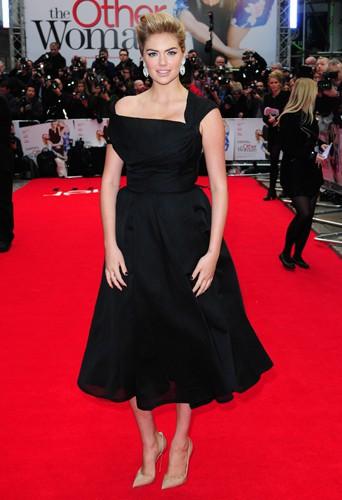Kate Upton à Londres le 2 avril 2014