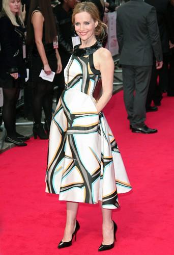 Leslie Mann à Londres le 2 avril 2014