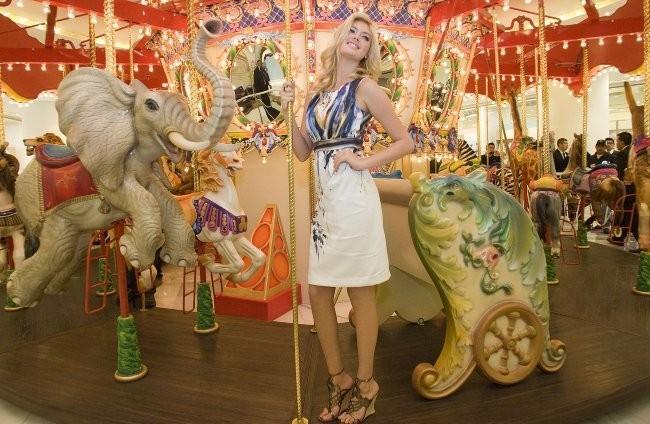 Kate Upton lors du Liverpool Fashion Fest à Mexico City, le 1er mars 2012.