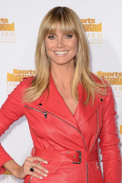 Heidi Klum lors des 50 ans du magazine Sports Illustrated Swimsuit à Los Angeles, le 14 janvier 2014.
