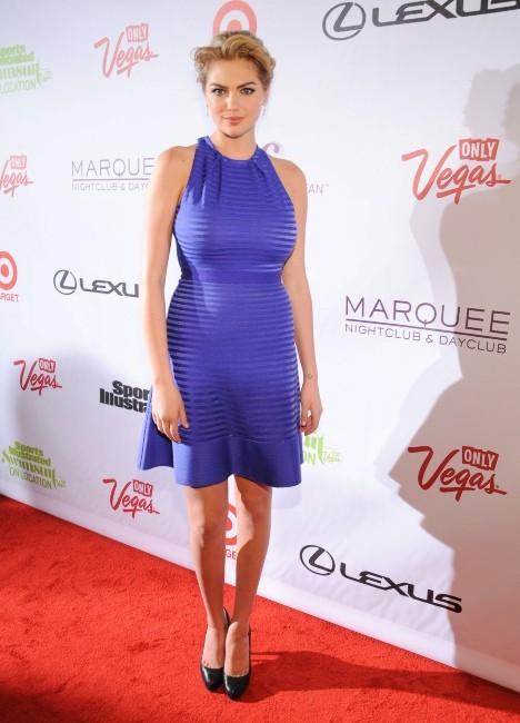 Kate Upton à Las Vegas, le 13 février 2013.