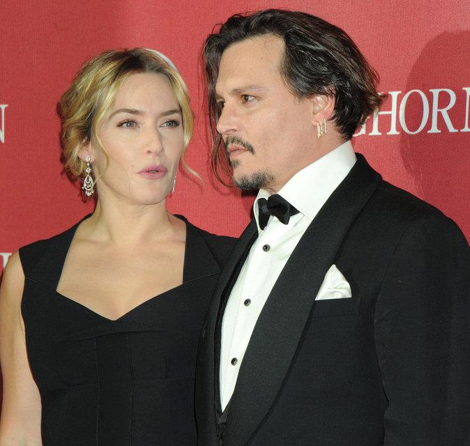 Kate Winslet et Johnny Depp