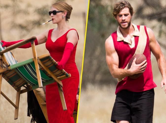 Kate Winslet : aux premi�res loges pour admirer les beaux bras muscl�s de Liam Hemsworth !