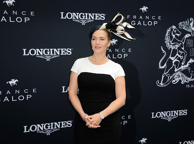 Kate Winslet : chic et raffin�e pour remettre le Prix de Diane Longines 2014 !
