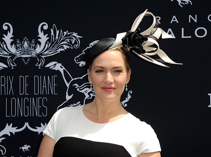 Kate Winslet à Chantilly le 15 juin 2014