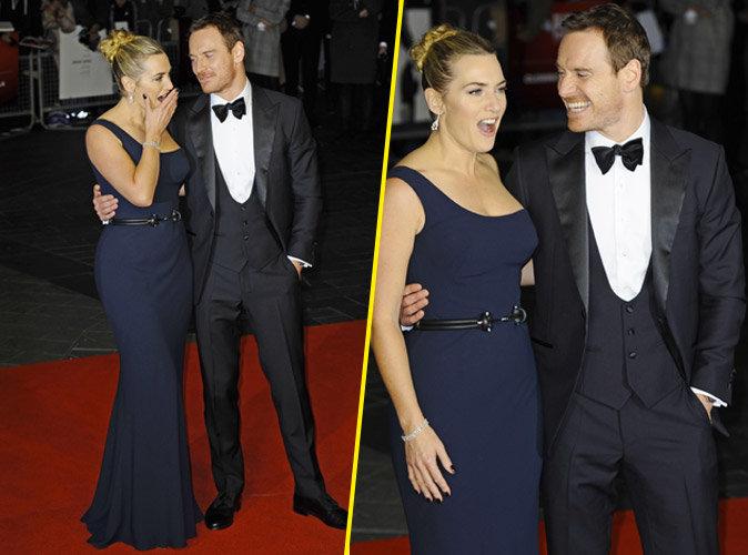 Kate Winslet et Michael Fassbender : duo glamour et complice sur red carpet !
