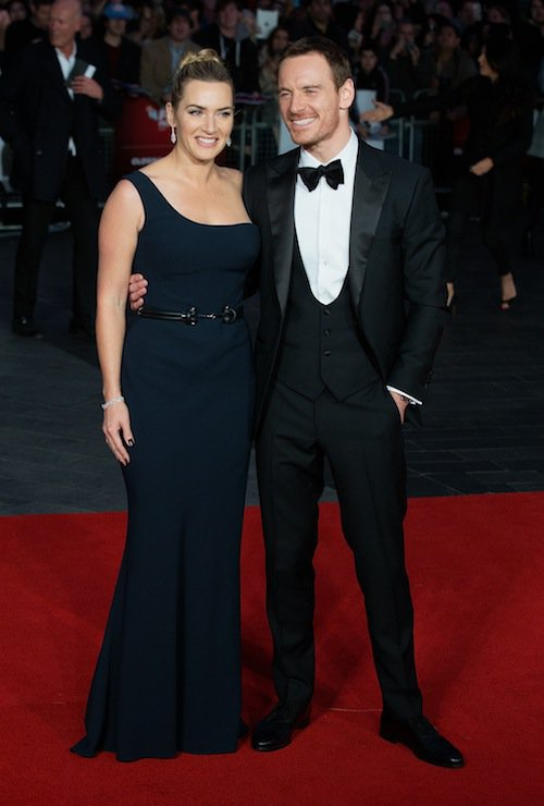 Photos : Kate Winslet et Michael Fassbender : duo glamour et complice sur red carpet !