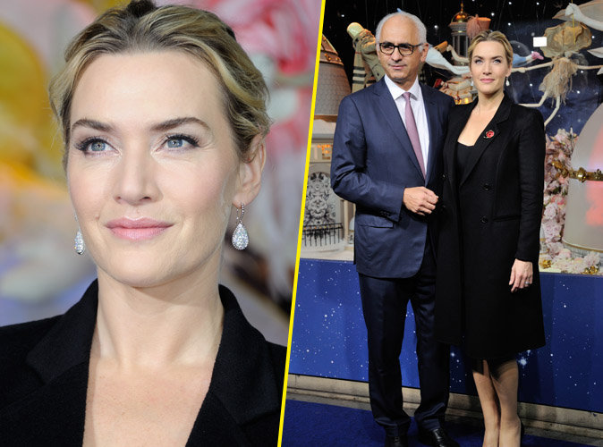 Kate Winslet : radieuse, elle a illuminé Paris !