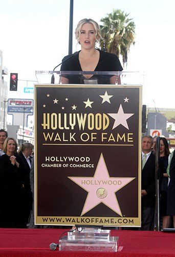 Kate Winslet à Los Angeles le 17 mars 2014