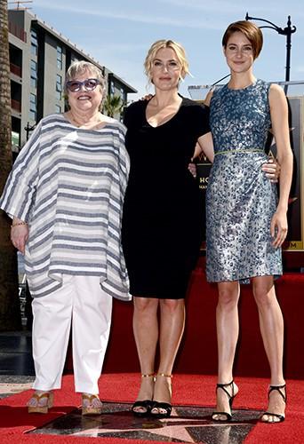 Kathy Bates, Kate Winslet et Shailene Woodley à Los Angeles le 17 mars 2014