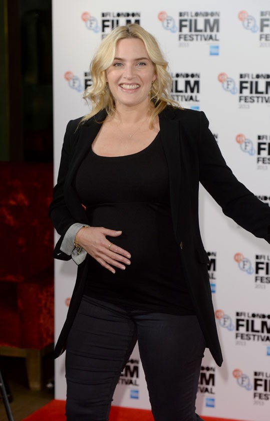 "Kate Winslet au London Film Festival pour présenter son film ""Labour Day"" le 14 octobre 2013"