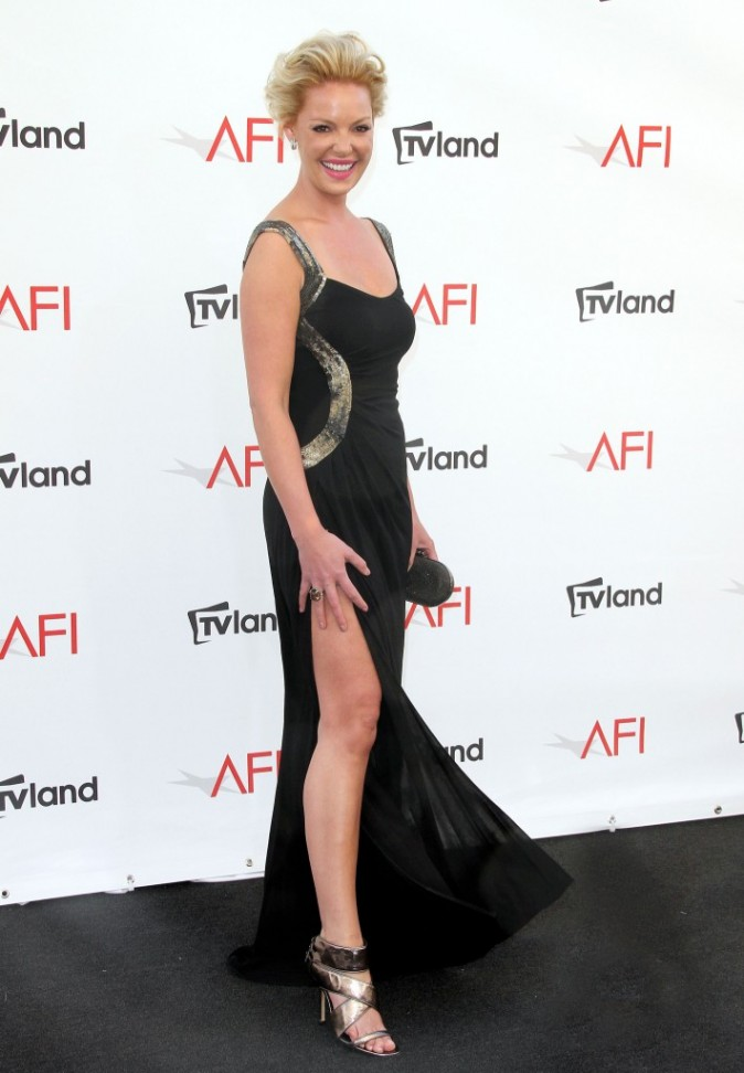 Katherine Heigl lors des AFI Life Achievement Award 2012 à Culver City, le 7 juin 2012.