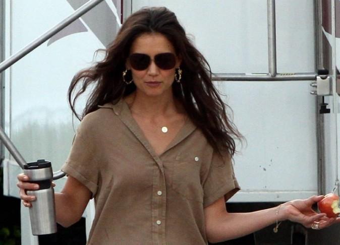 Katie, cheveux dans le vent !