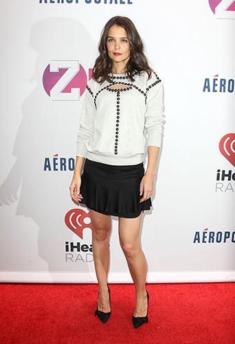 Katie Holmes à New-York le 13 décembre 2013