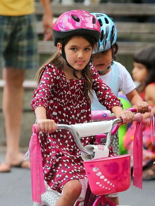 Katie Holmes et Suri Cruise à New-york le 25 août 2012