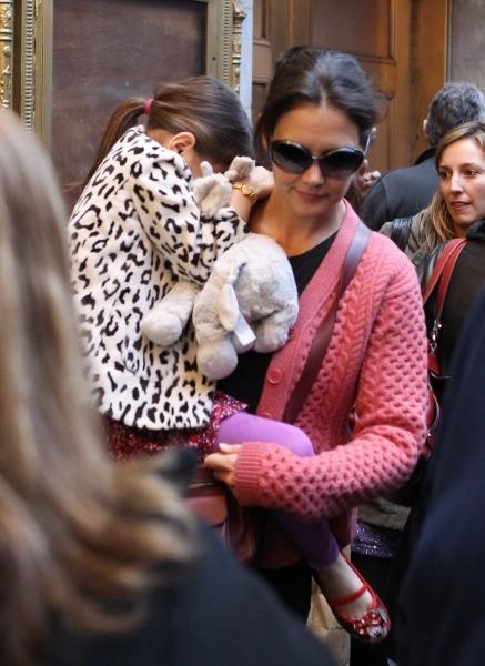 Katie Holmes le 3 novembre 2012 à New York