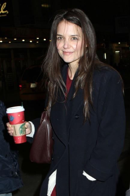 Katie Holmes le 27 décembre 2012 à Broadway, New York