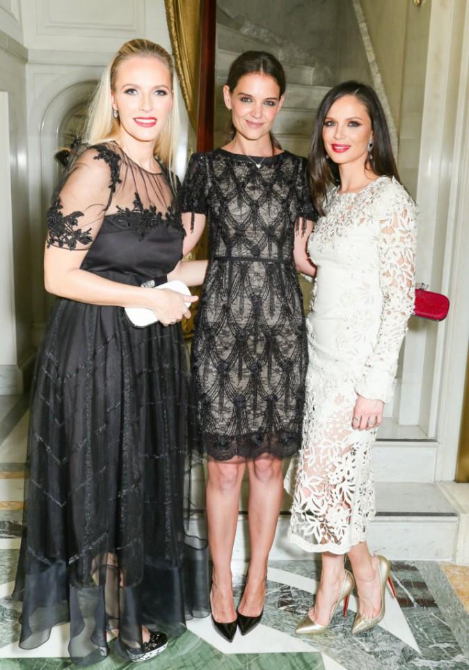 Katie Holmes, Georgina Chapman et Keren Craig le 11 novembre 2014