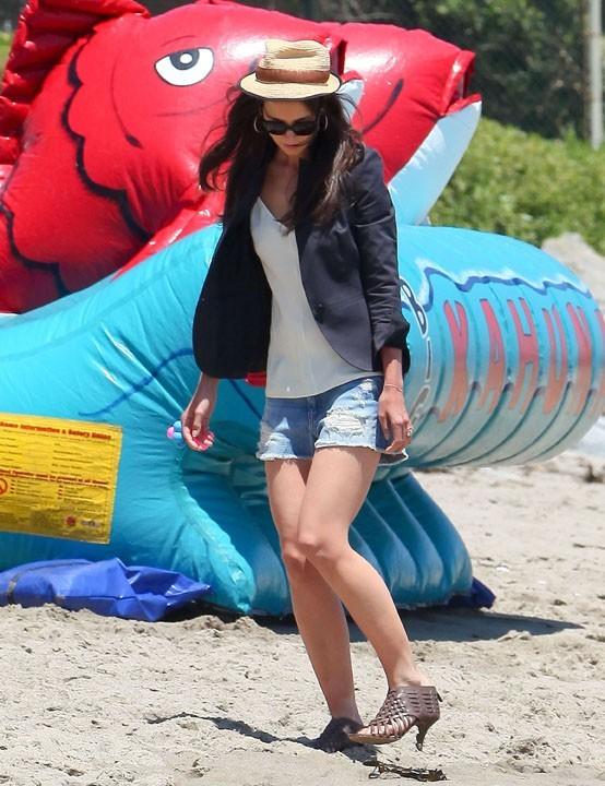 Fashionista, même à la plage !