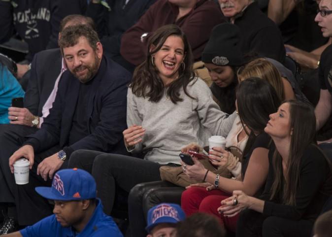 Katie Holmes à New-York le 9 janvier 2014