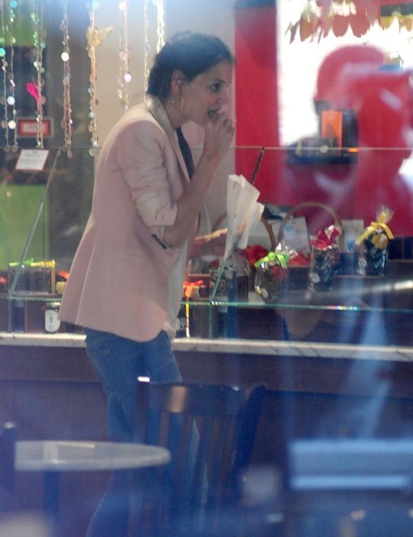 Katie Holmes et Suri Cruise à New-York le 14 juin 2012