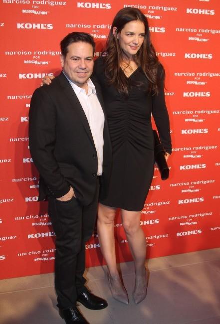 Katie Holmes et Narciso Rodriguez le 22 octobre 2012 à New York