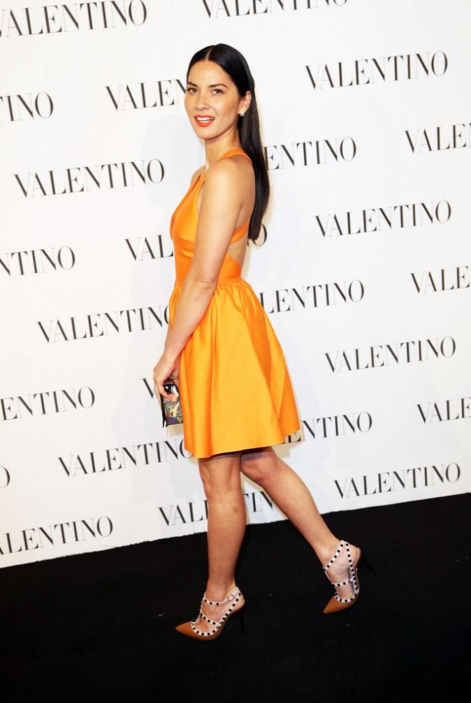 Olivia Munn le 10 décembre 2014