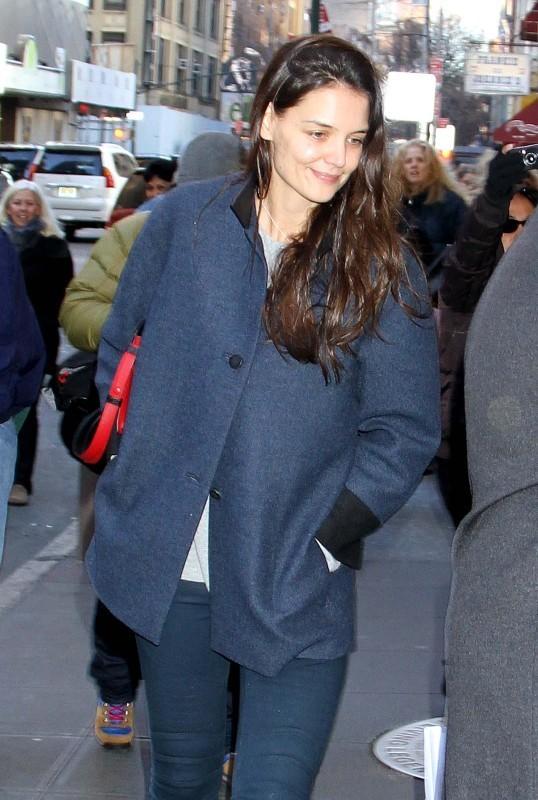 Katie Holmes le 19 décembre 2012 à New York