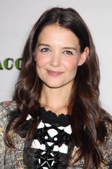 """Katie Holmes lors de la soirée en l'honneur de la première de sa pièce de théâtre """"Dead Accounts"""" à New York, le 29 novembre 2012."""