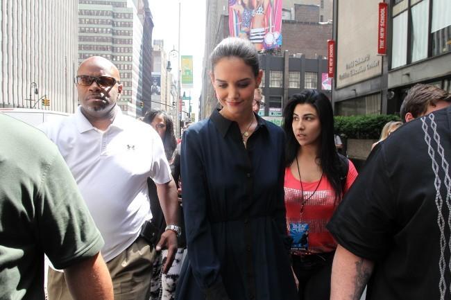 Katie Holmes à New York, le 2 juillet 2012.