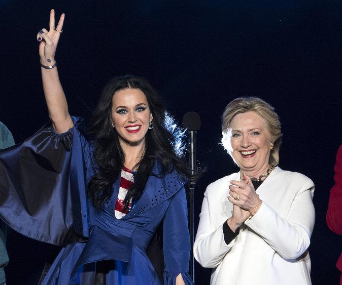 Katy Perry a frappé aux