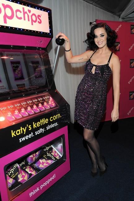 """Katy Perry lors de la soirée """"Katy's Casino Popchips"""" à Los Angeles, le 24 janvier 2013."""